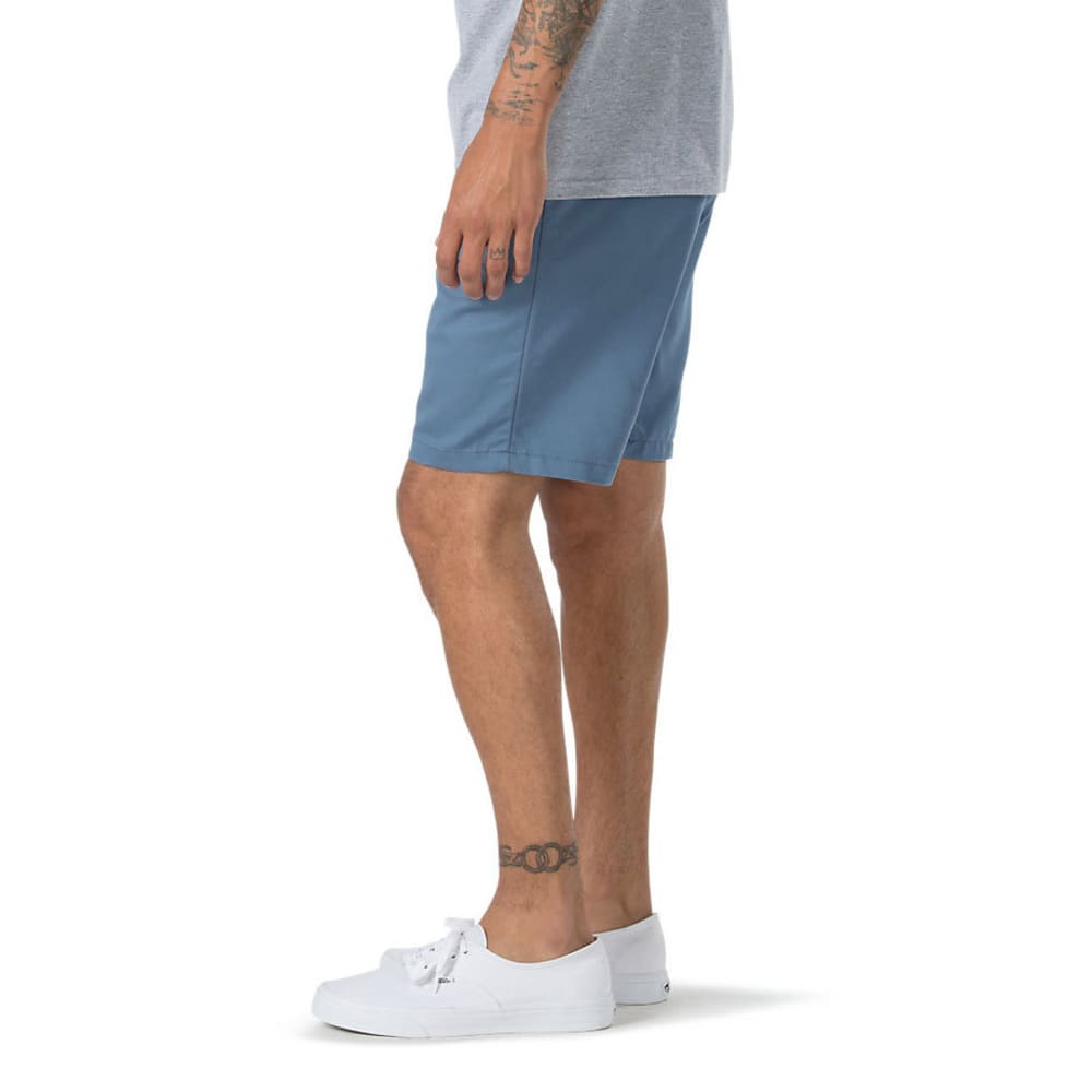 VANS Guys' Authentic Stretch Shorts - COPEN BLUE