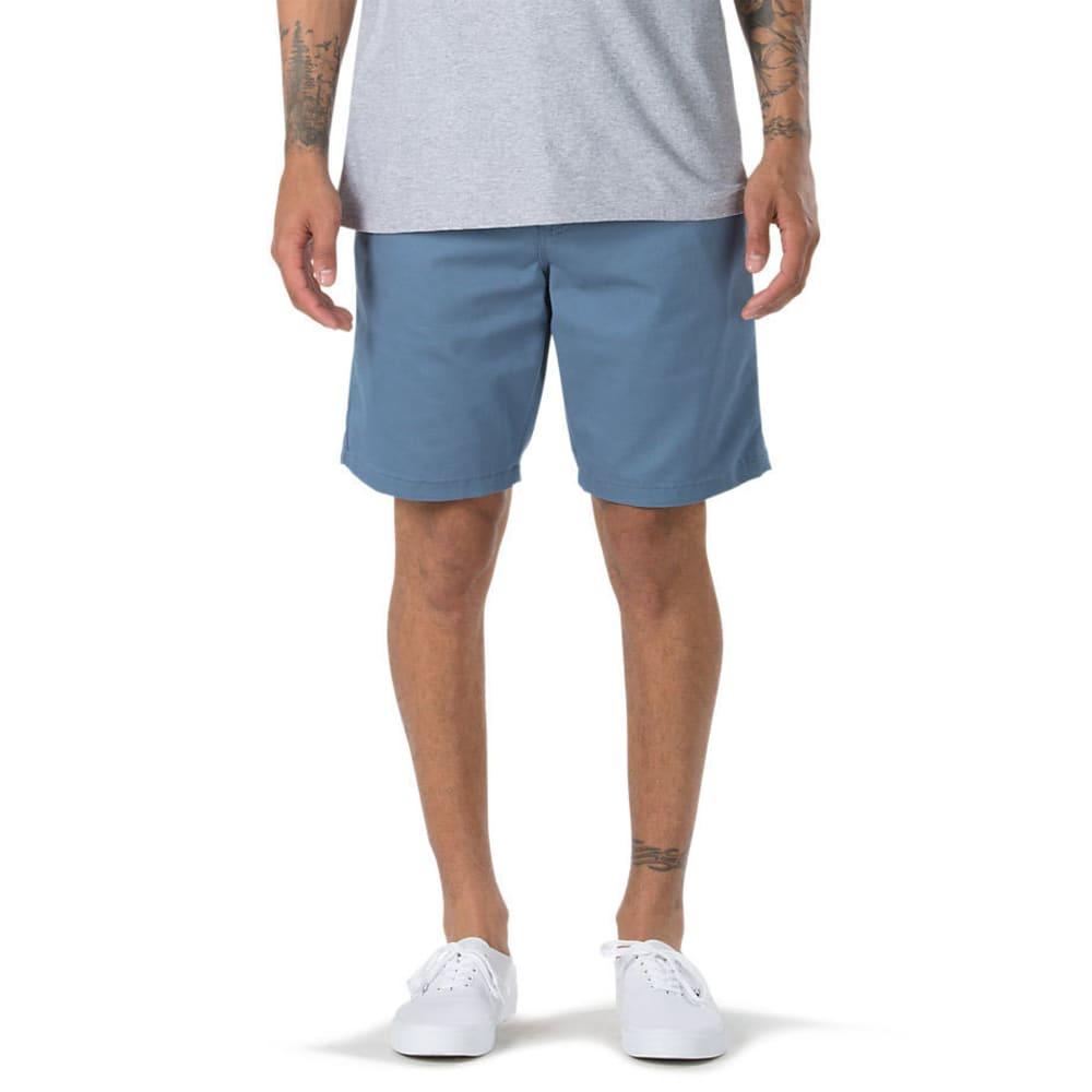 VANS Guys' Authentic Stretch Shorts - COPEN BLUE
