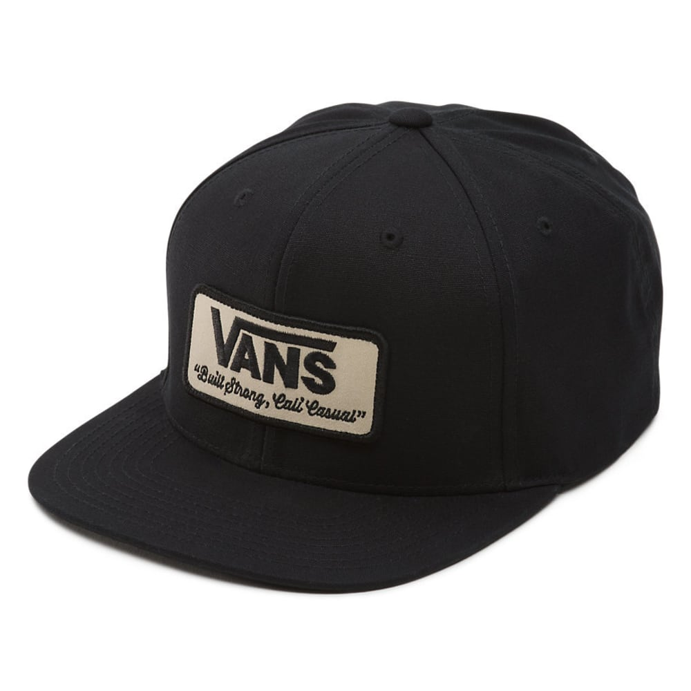 VANS Guys' Rowley Snapback - BLACK