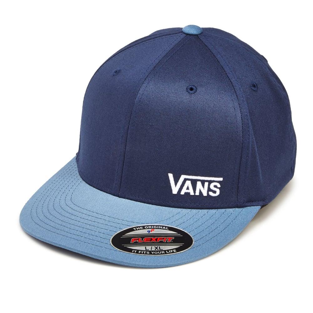 VANS Guys' Splitz FlexFit Hat - DRESS BLU/COPEN BLU