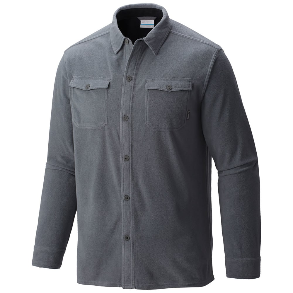 Columbia Men's Forest Park Overshirt - Black, L