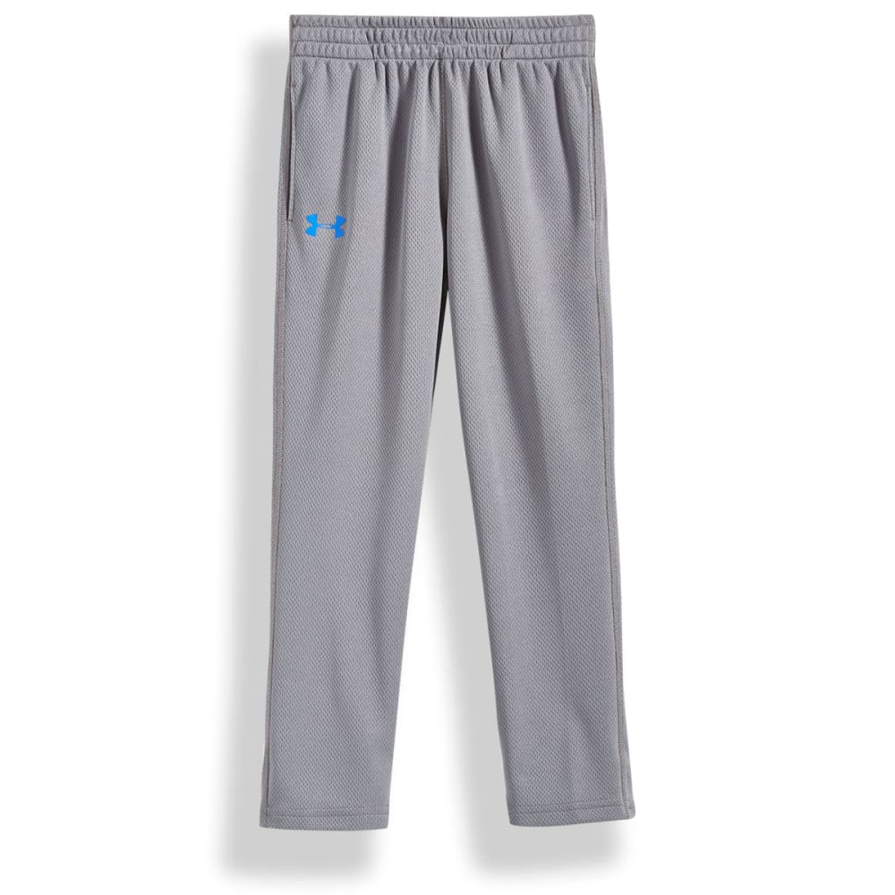 UNDER ARMOUR Little Boys' Brute Flatback Mesh Pants - GRAPHITE/ULTRABLU-16