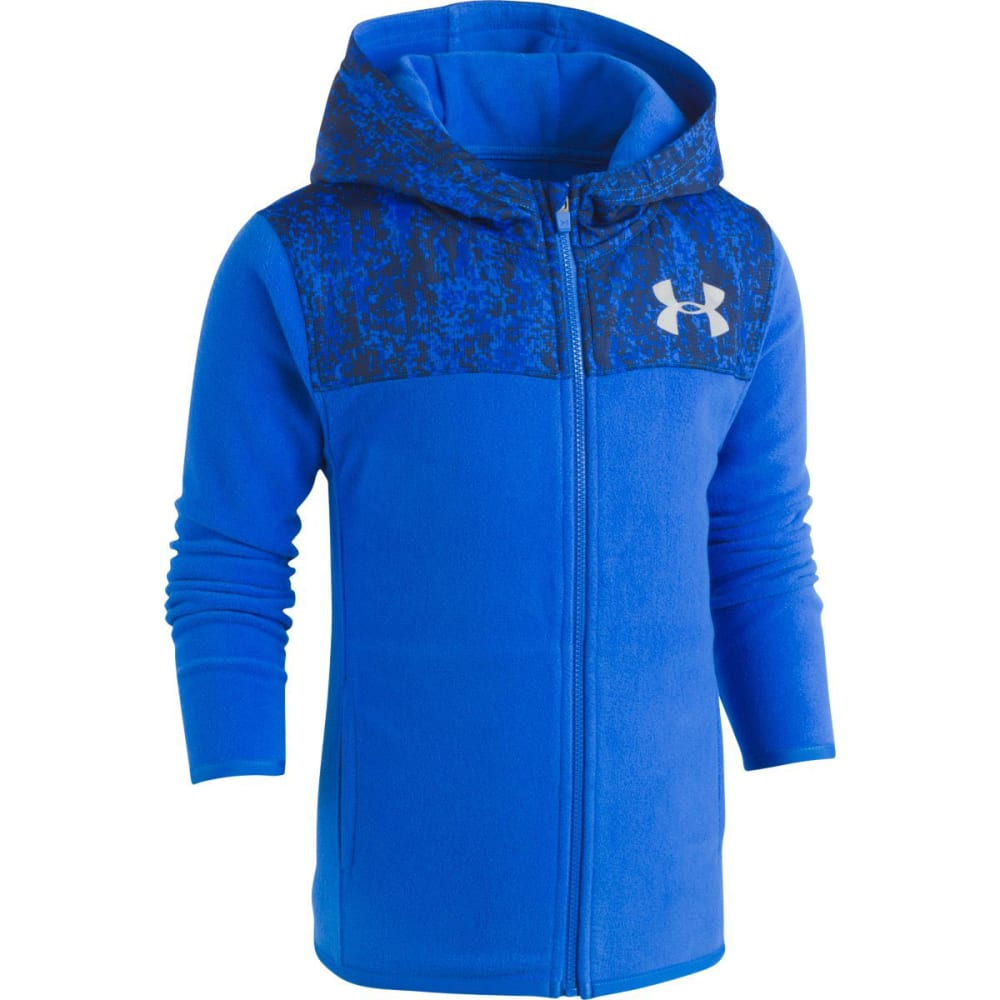 UNDER ARMOUR Little Boys' UA Digital City Cozy Full-Zip Hoodie - ULTRA BLUE-41