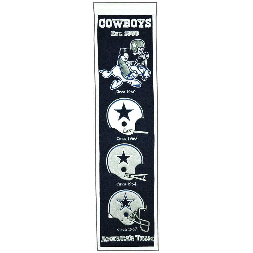 DALLAS COWBOYS Heritage Banner NO SIZE