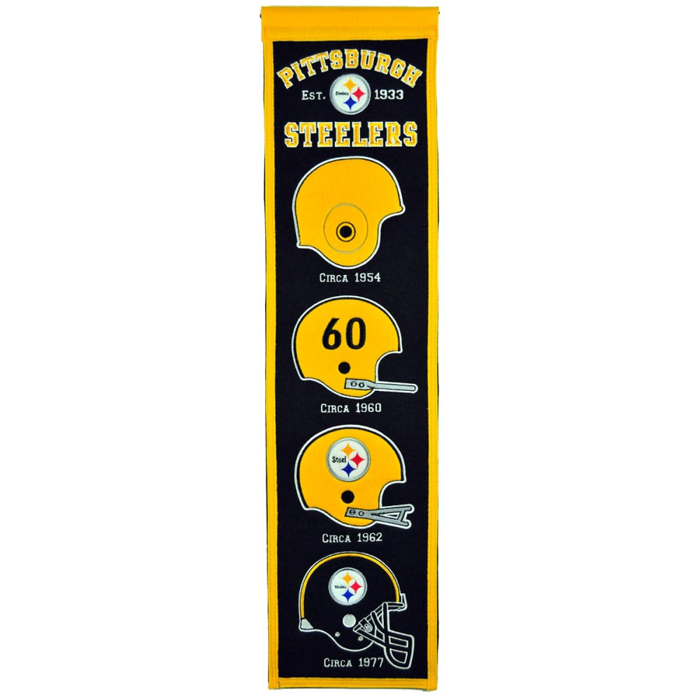 PITTSBURGH STEELERS Heritage Banner - NO COLOR
