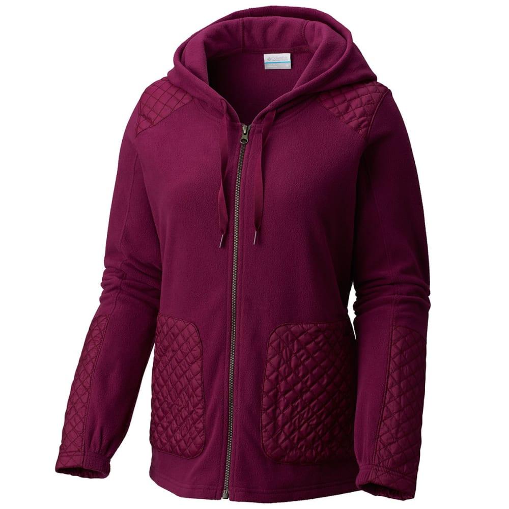 COLUMBIA Women's Warm-Up Hooded Fleece Jacket S