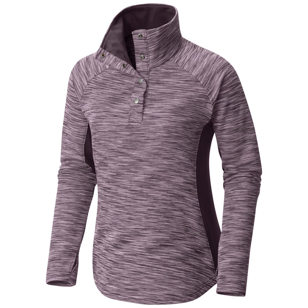 COLUMBIA Women's Optic Got It™ II Long-Sleeve Pullover - 500-DUSTY PURPLE