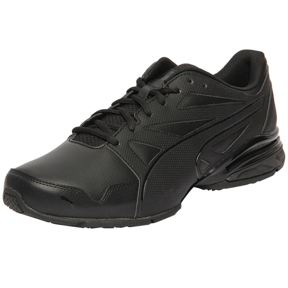 PUMA Men's Tazon Modern Fracture Sneakers, Black 9.5