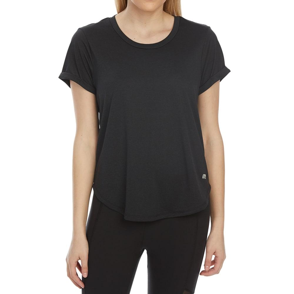 MARIKA Women's Enlighten Short-Sleeve Tee - BLACK-001