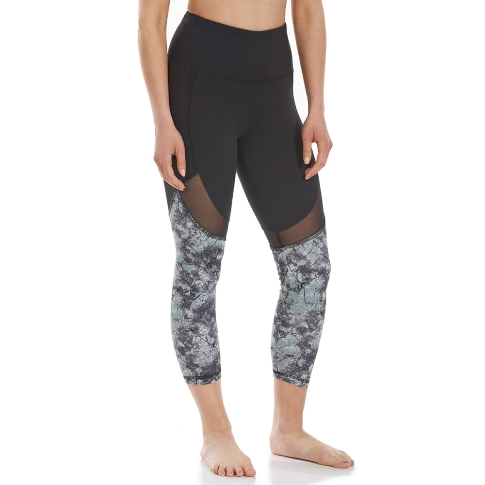 BALANCE COLLECTION BY MARIKA Women's Marley Mid-Calf Capri Leggings - CHINOIS OPALITY-0UR