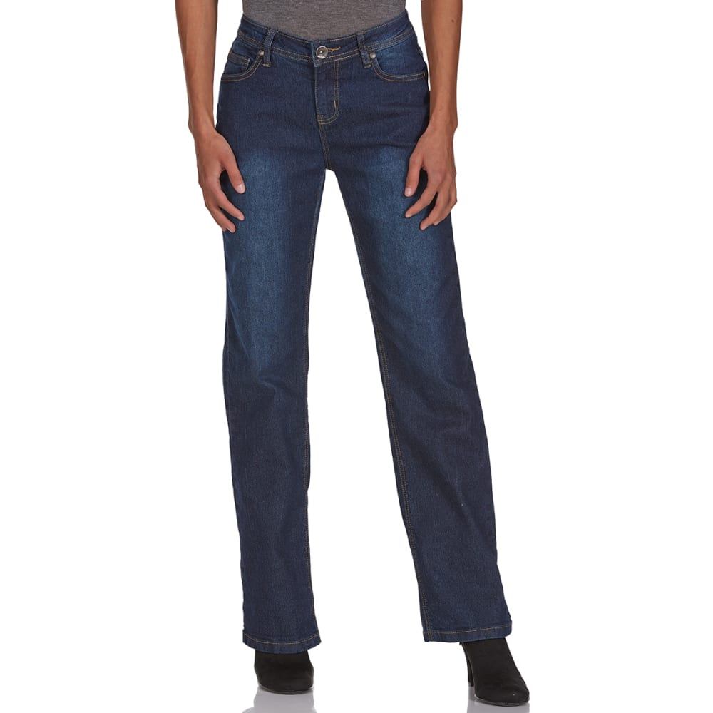 BCC Women's Classic Fit Jeans, 32R - DARK