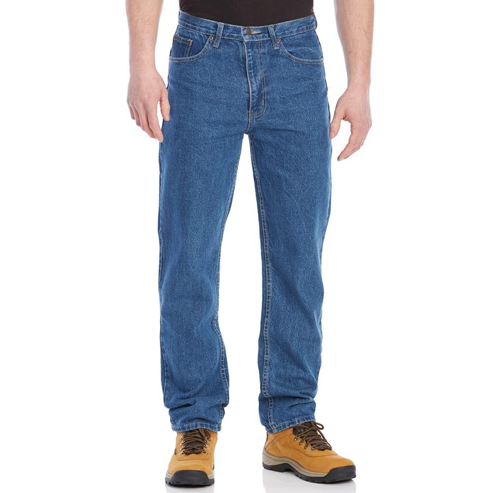 BCC Men's Regular Fit 5-Pocket Jeans - ANTIQUE STONE-AS
