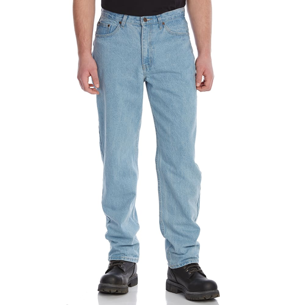 Bcc Men's Relaxed Fit 5-Pocket Jeans - Blue, 32/29