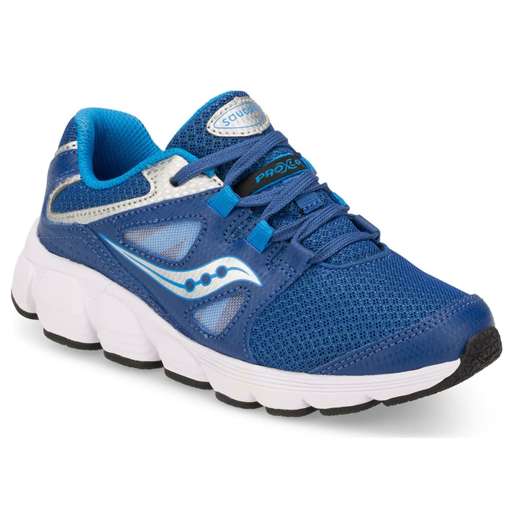 SAUCONY Big Boys' Kotaro 4 Running Shoes, Wide - BLUE