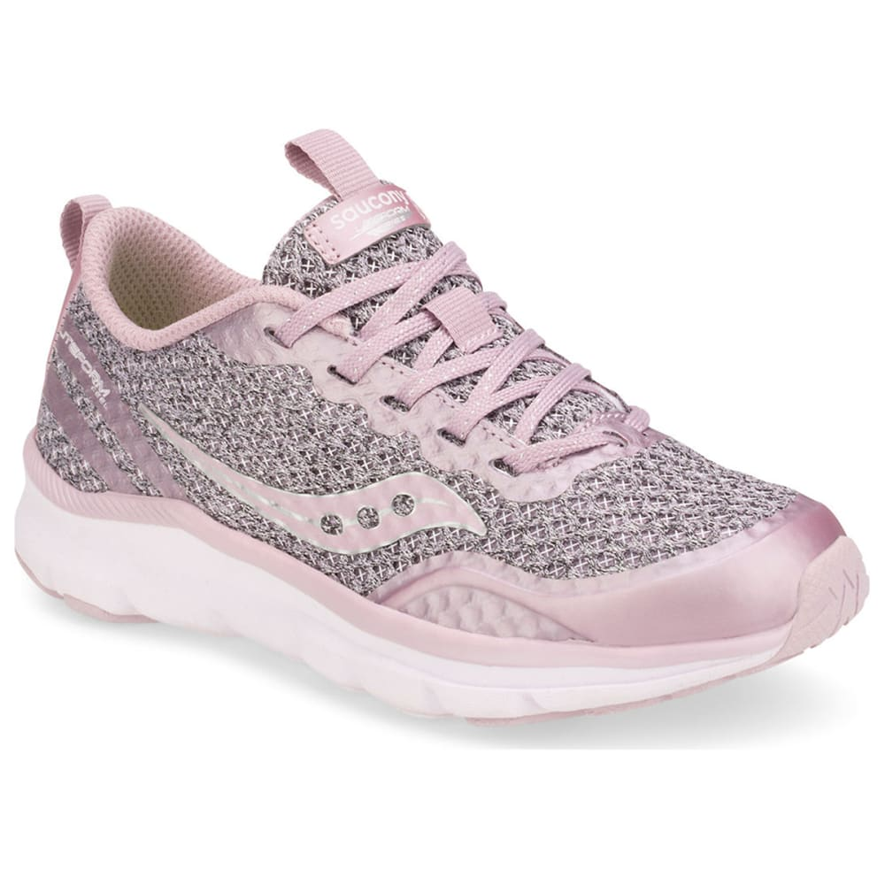 SAUCONY Big Girls' Liteform Feel Sneakers - BLUSH