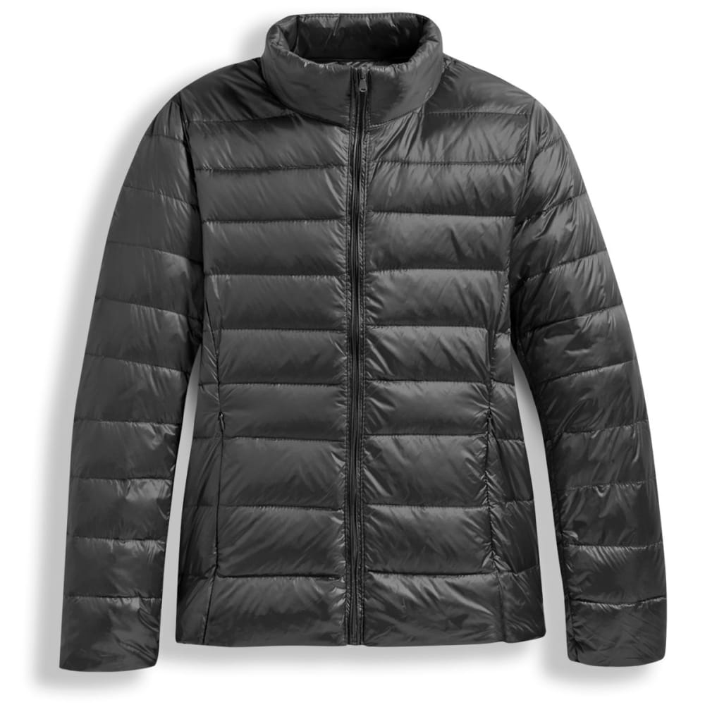 Women's Packable Down Jacket - BLACK