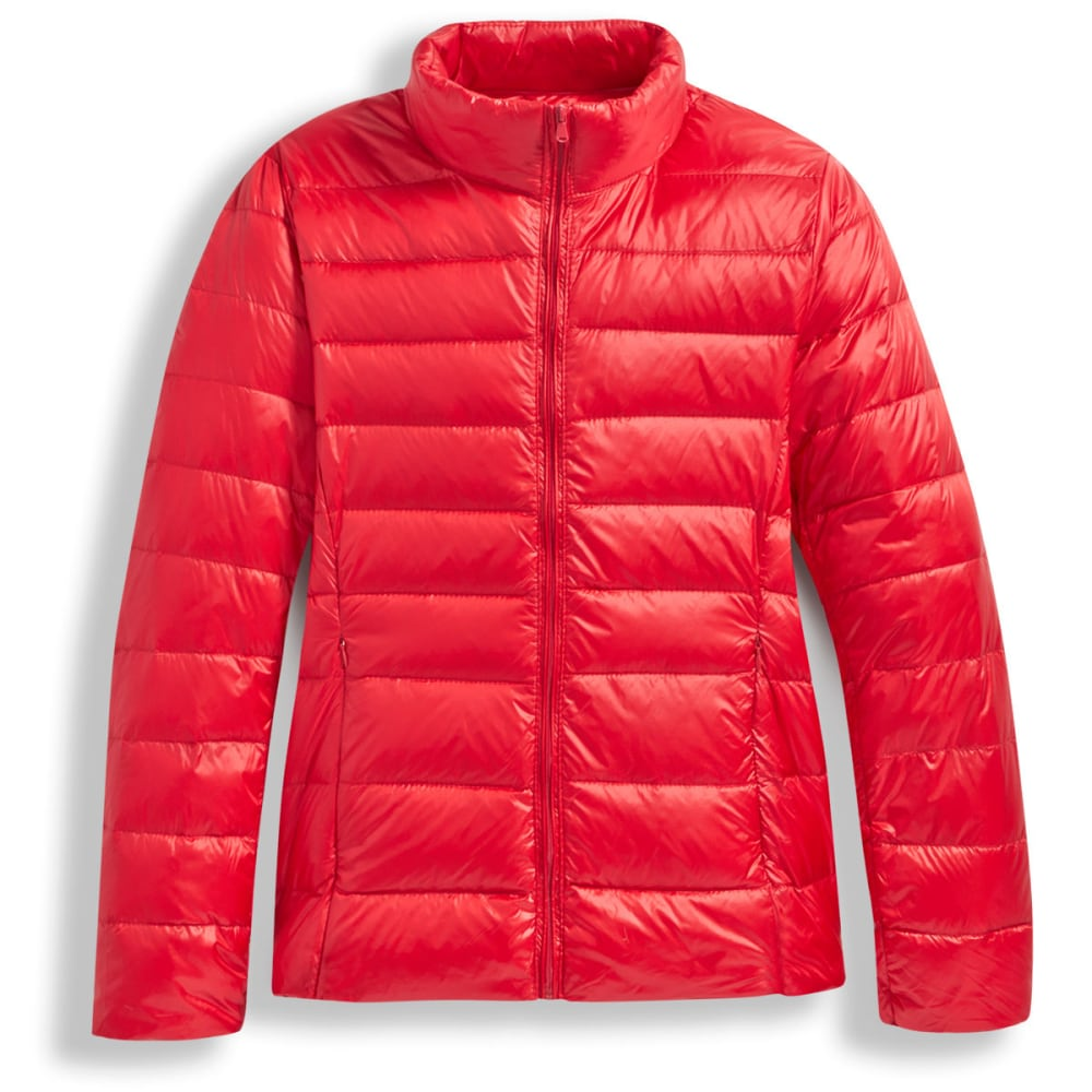 Women's Packable Down Jacket - RED