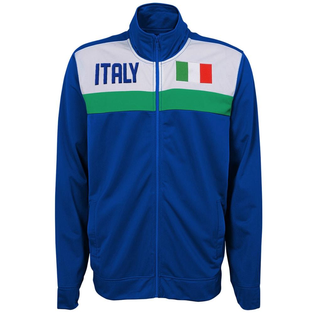 OUTERSTUFF Men's Italy Soccer Track Jacket - ROYAL BLUE