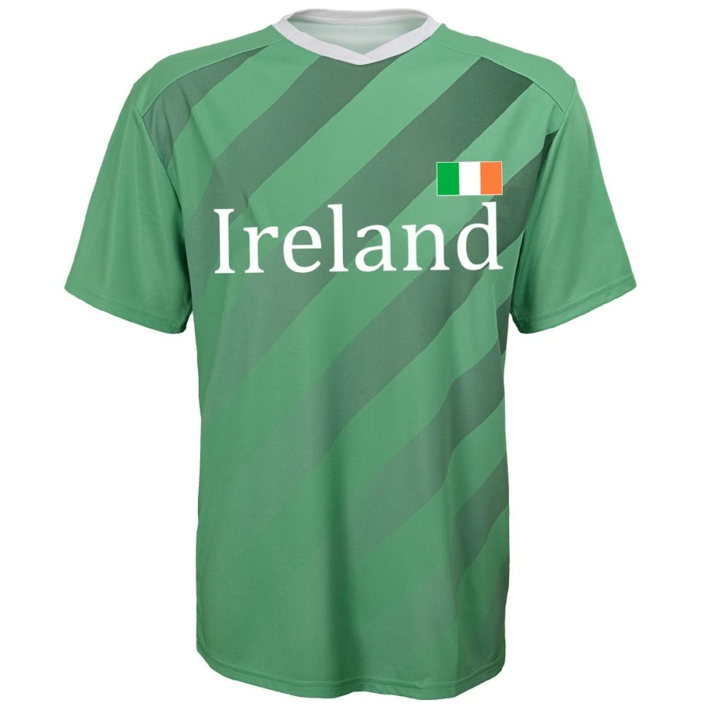 OUTERSTUFF Men's Ireland Short-Sleeve Jersey Tee - GREEN