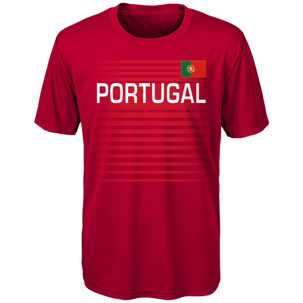 OUTERSTUFF Men's Portugal One Team Short-Sleeve Tee - RED