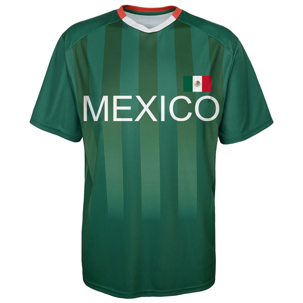 OUTERSTUFF Men's Mexico Short-Sleeve Jersey Tee - GREEN