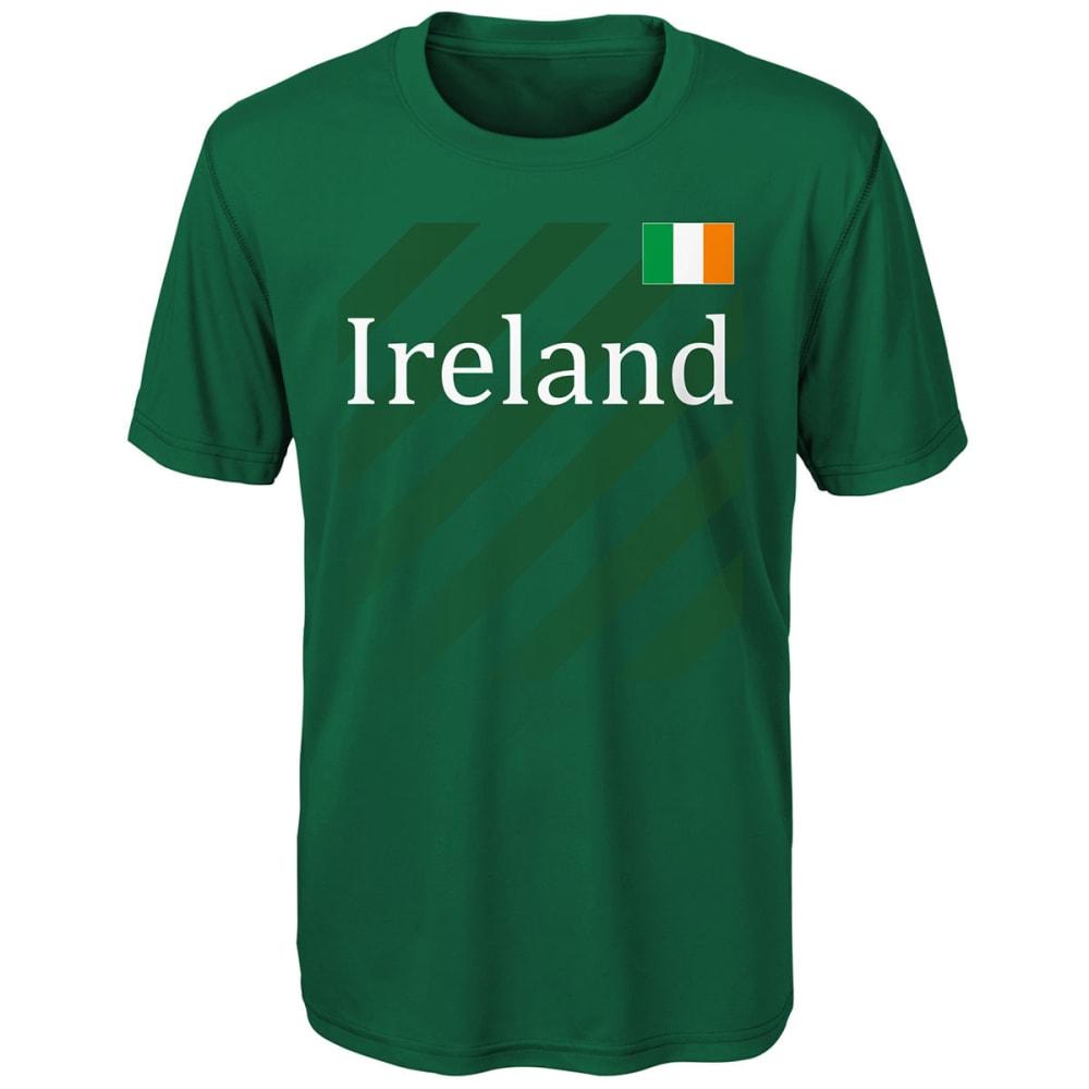 OUTERSTUFF Big Boys' Ireland Performance Short-Sleeve Tee - GREEN