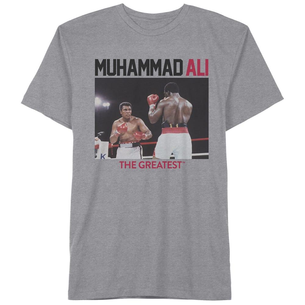 HYBRID Guys' Ali the Greatest Short-Sleeve Tee - HEATHER GREY