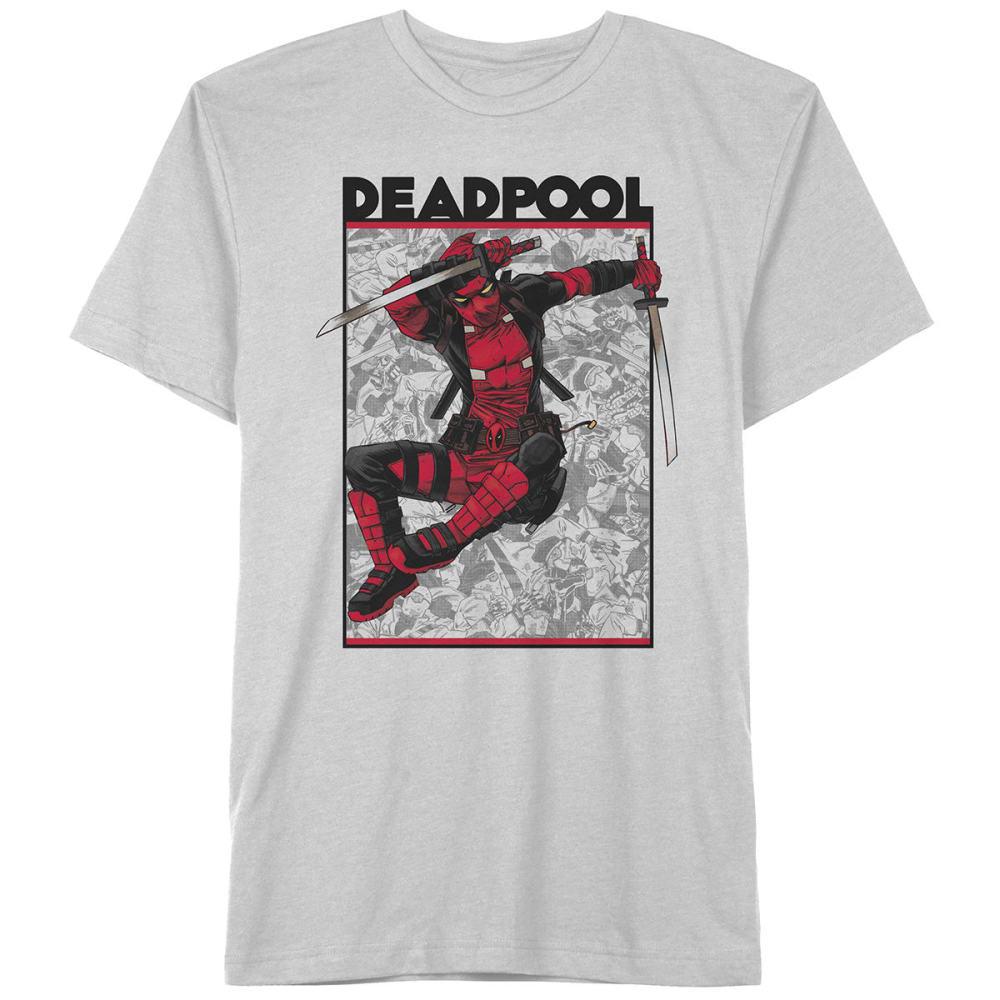 HYBRID Guys' Deadpool Shoot Out Short-Sleeve Tee - WHITE