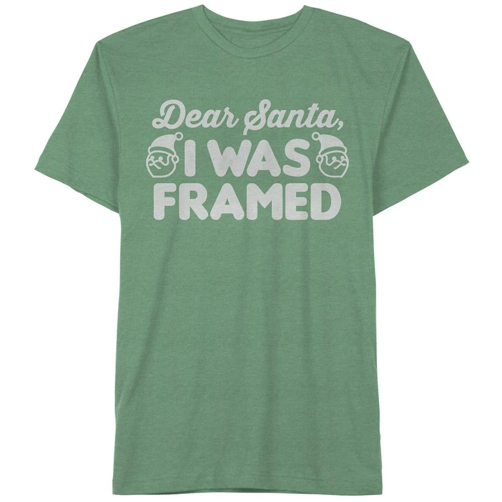 HYBRID Guys' I Was Framed Short-Sleeve Christmas Tee - KELLY HEATHER