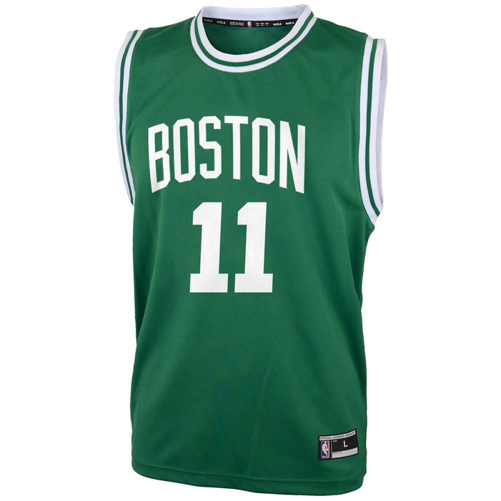 BOSTON CELTICS Big Boys' Kyrie Irving #11 Name and Number Jersey - GREEN