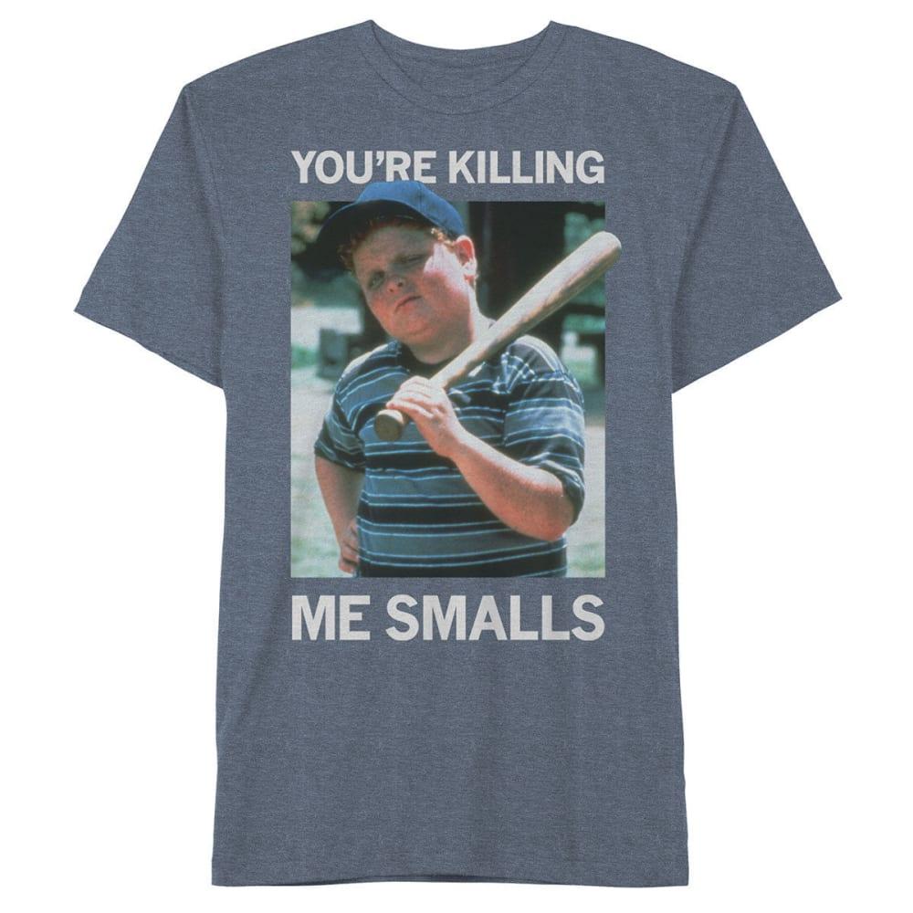 HYBRID Big Boys' Killing Me Smalls Short-Sleeve Tee - NAVY HEATHER