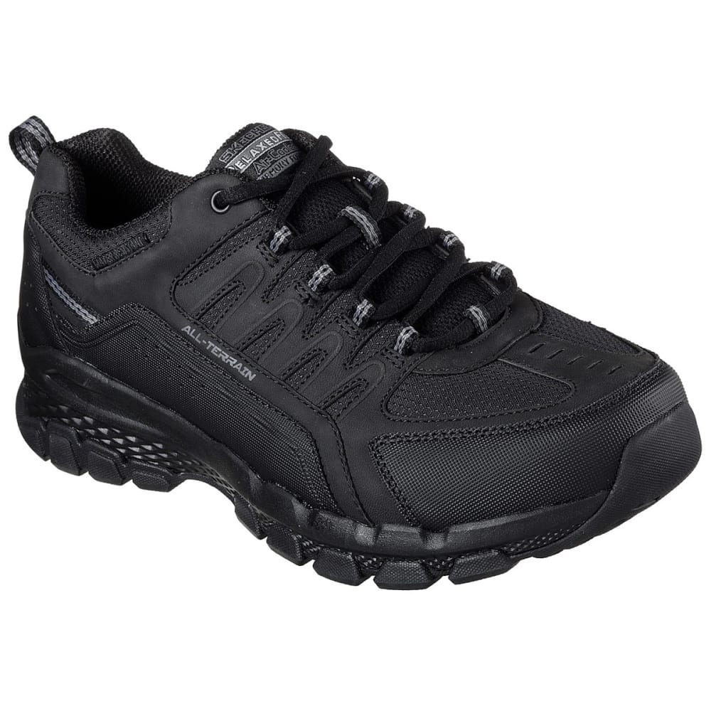 Skechers Men's Relaxed Fit: Outland 2.0 - Rip-Staver Sneakers - Black, 8