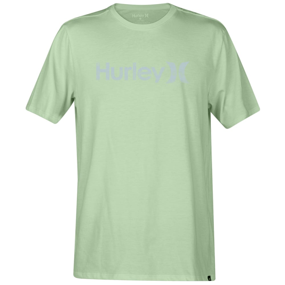HURLEY Guys' One And Only Push Through Short-Sleeve Tee - VAPOR GRN-327
