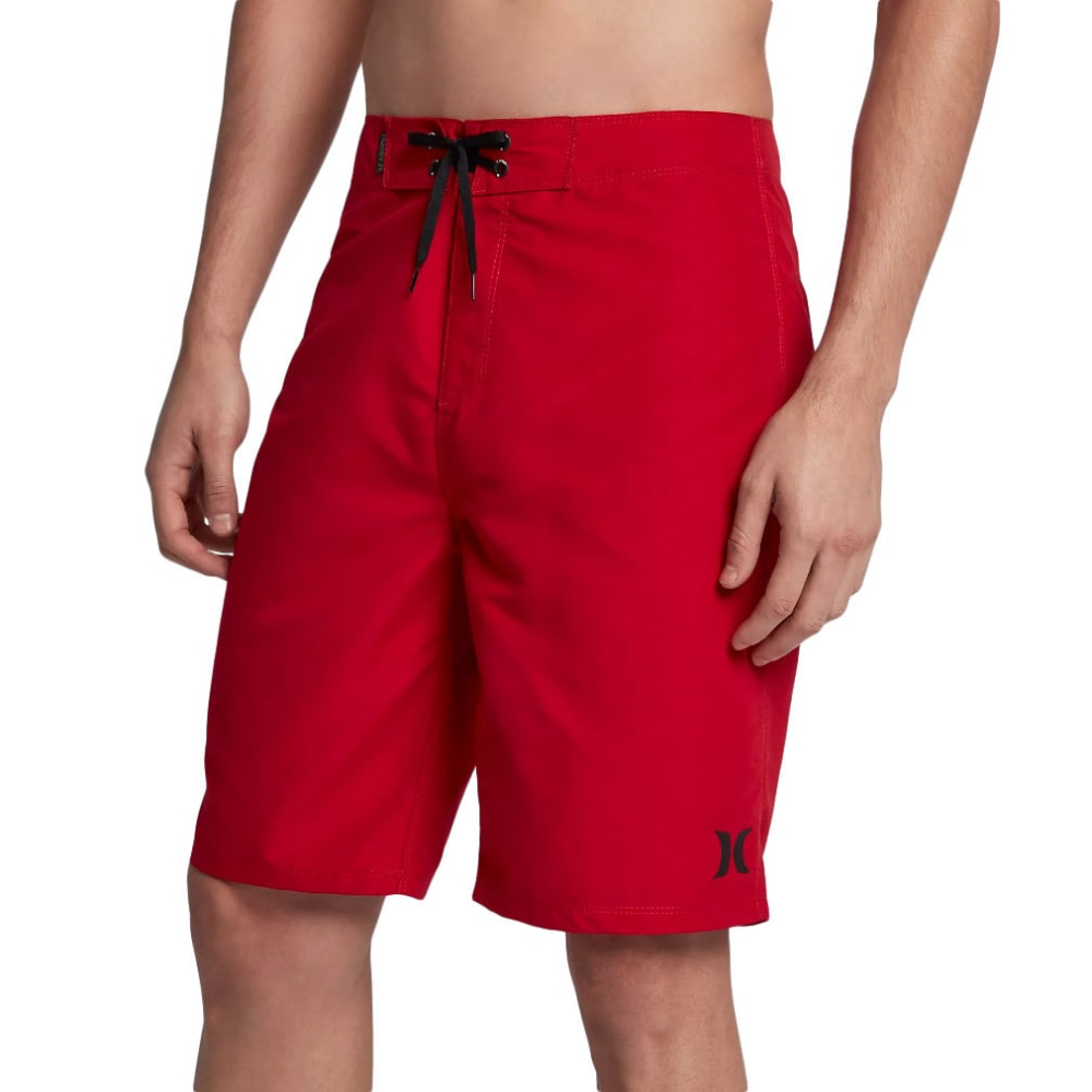 Hurley Guys' Hurley One And Only Boardshorts - Red, 28