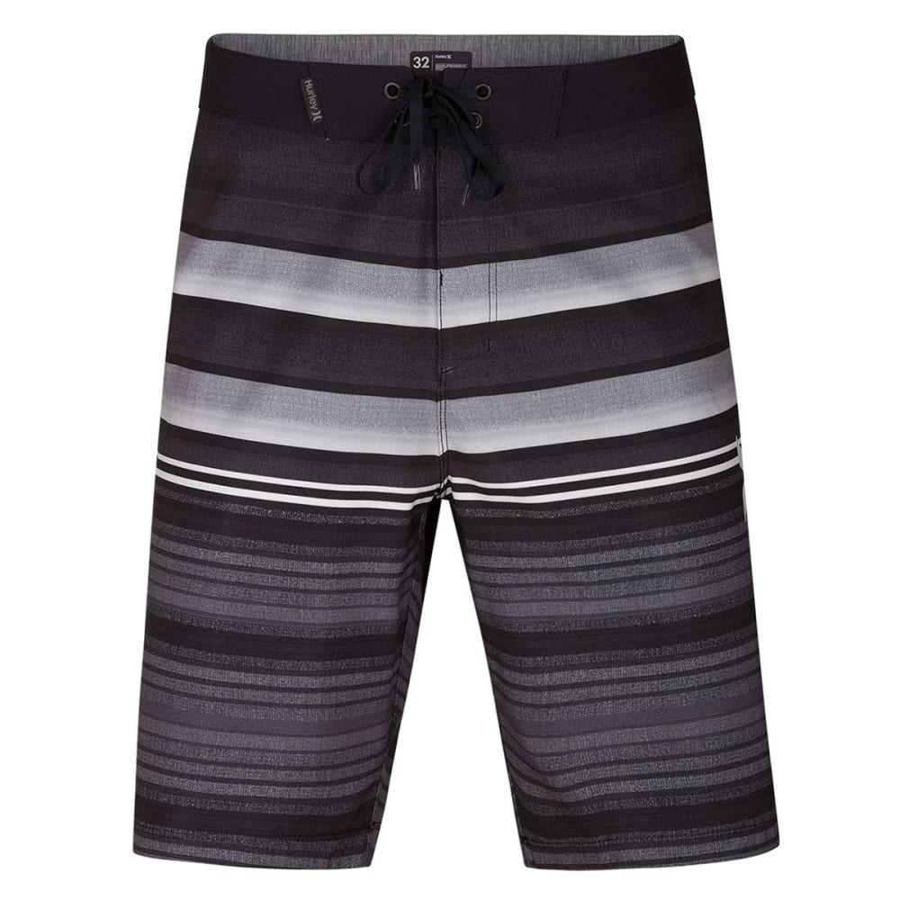 HURLEY Guys' 9 in. Phantom Blackball Orange Street Boardshorts - BLK-010