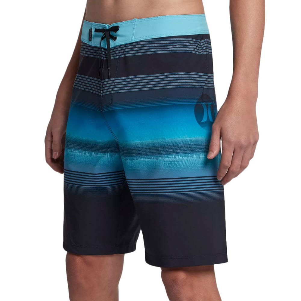 HURLEY Guys' 20 in. Phantom Gaviota Boardshorts - OBSIDIAN-451