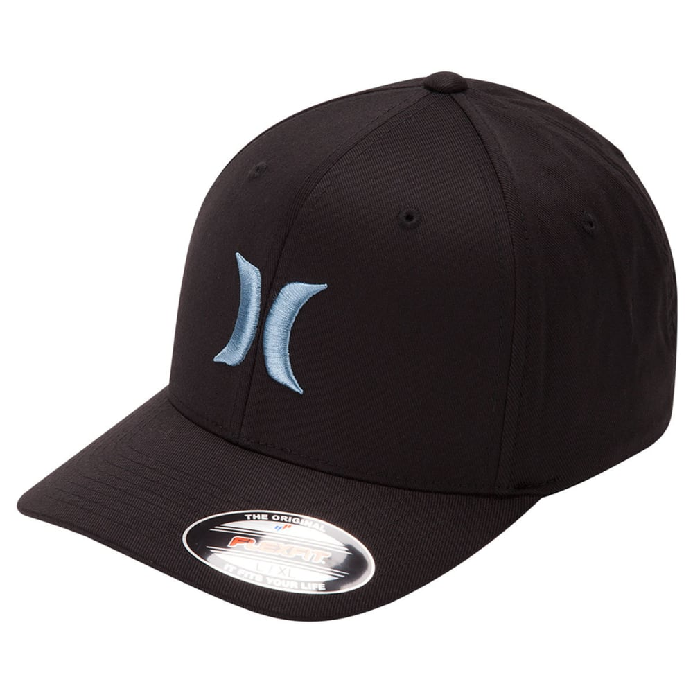 HURLEY Guys' One and Only Hat - BLK/NOISE AQUA-012