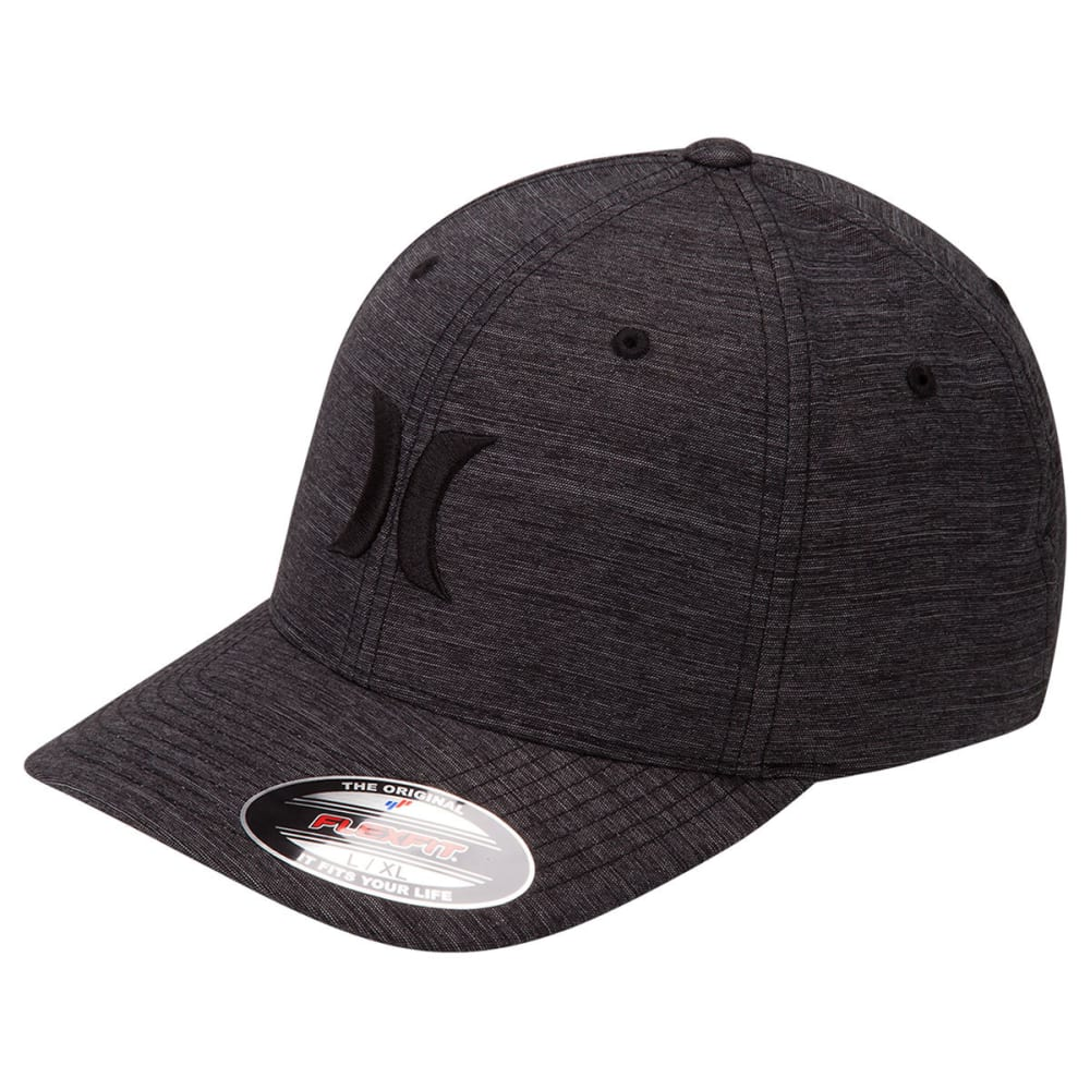 Hurley Guys' Dri-Fit Breathe Hat - Black, S/M