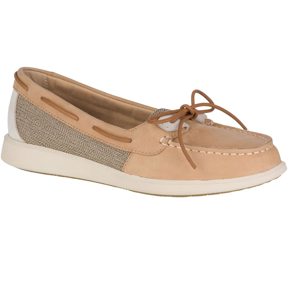 SPERRY Women's Oasis Loft Boat Shoes - LINEN/OAT