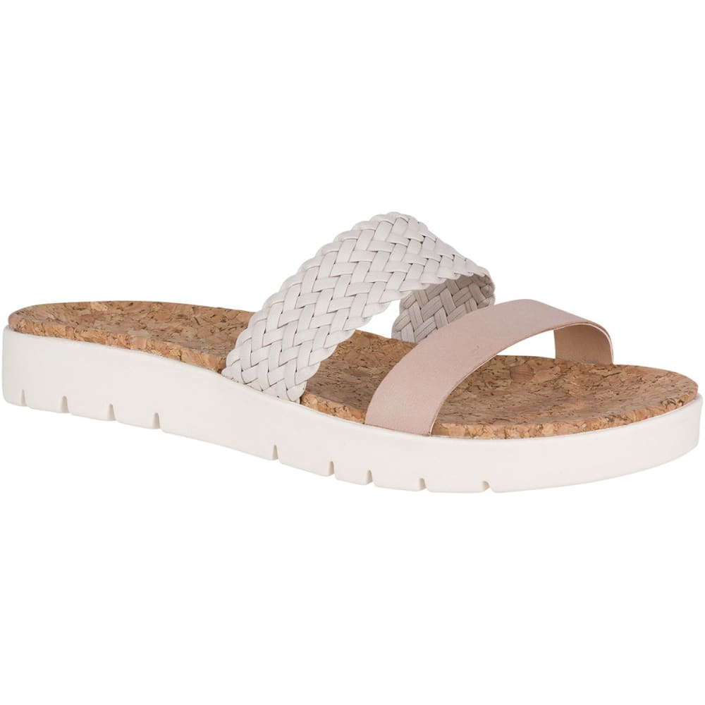 SPERRY Women's Sunkiss Pearl Slide Sandals - IVORY/ROSE-STS81584
