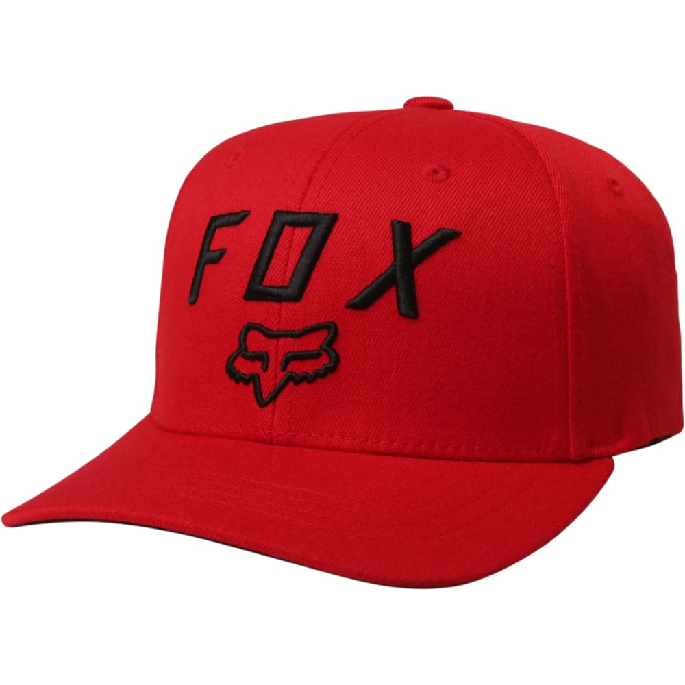FOX RACING Guys' Legacy Moth 110 Snapback Hat - DK RED-208