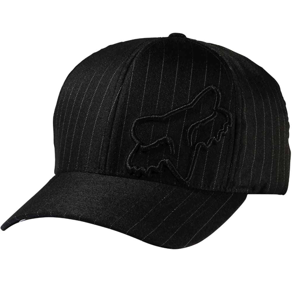 FOX RACING Guys' Flex 45 Flexfit Hat - BLK/PINSTRP-515
