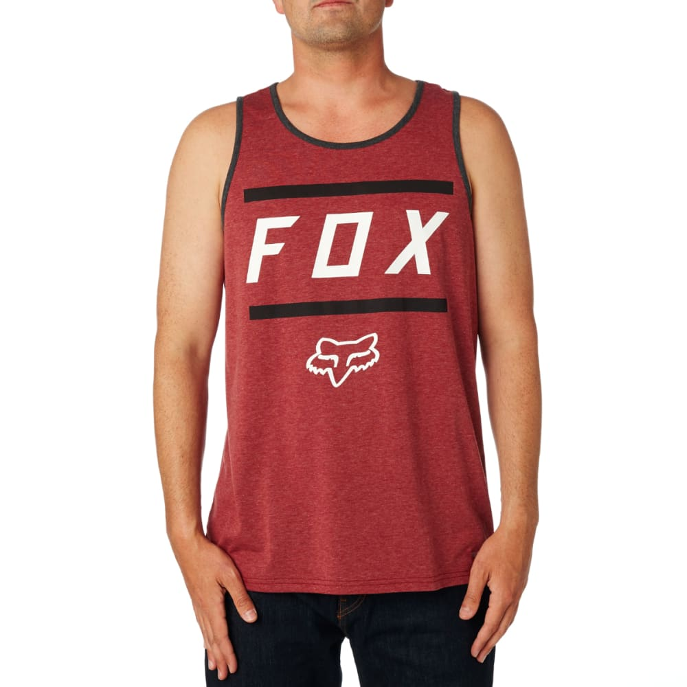 FOX Listless Tech Tank Top - HTR BURG-106