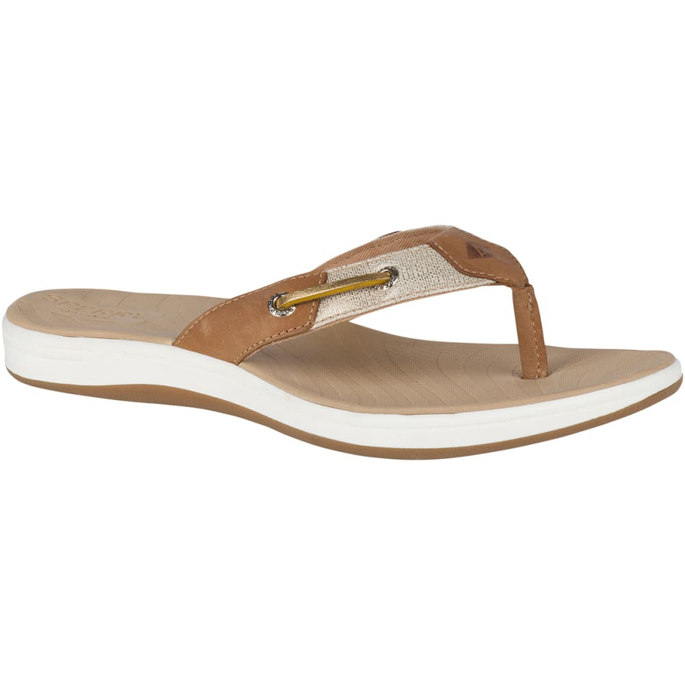 SPERRY Women's Seabrooke Surf Metallic Flip Flop 6
