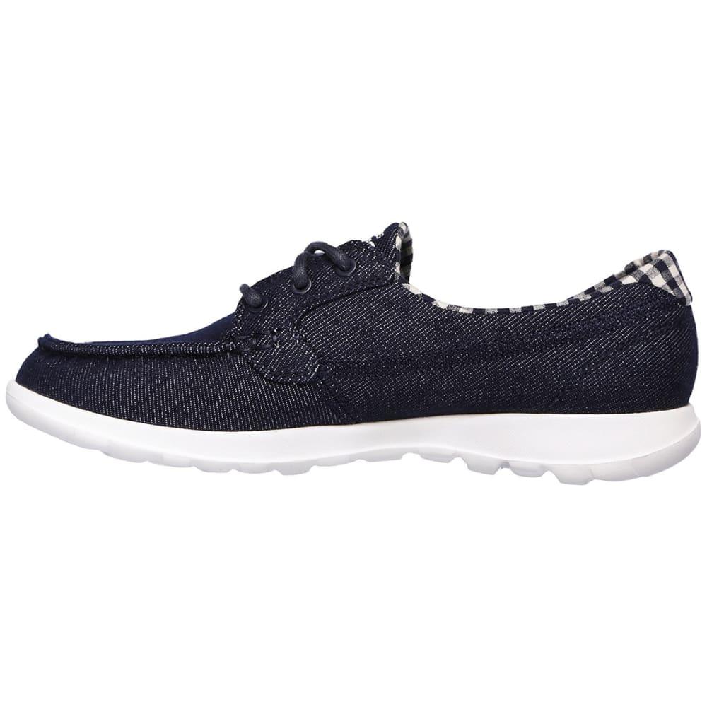 SKECHERS Women's Go Walk Lite -  Luna Walking Shoes - NAVY