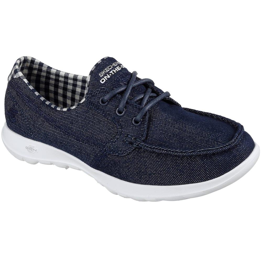 Skechers Women's Go Walk Lite -  Luna Walking Shoes - Blue, 6
