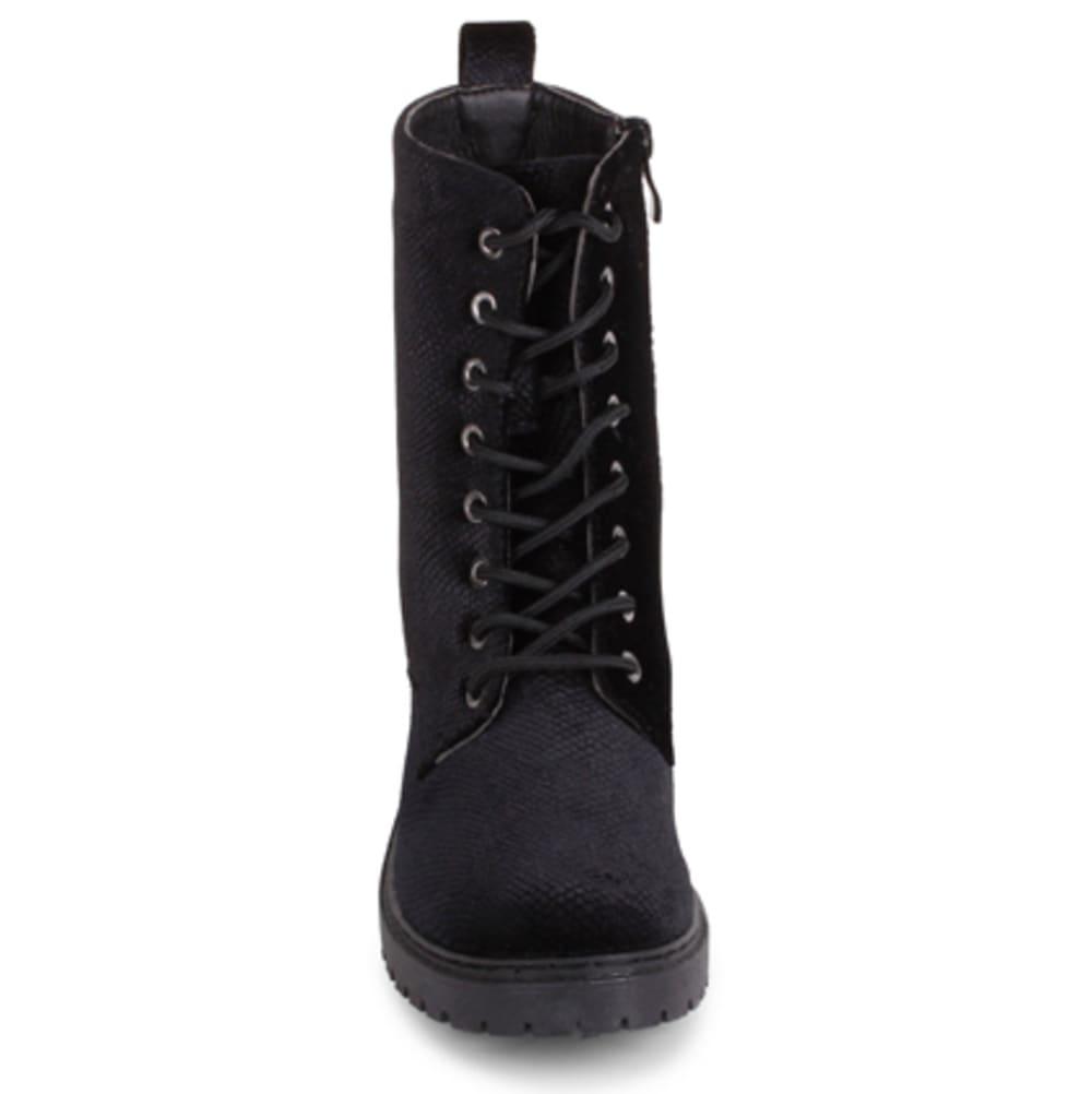 WANTED Women's Patrol Combat Booties - BLACK
