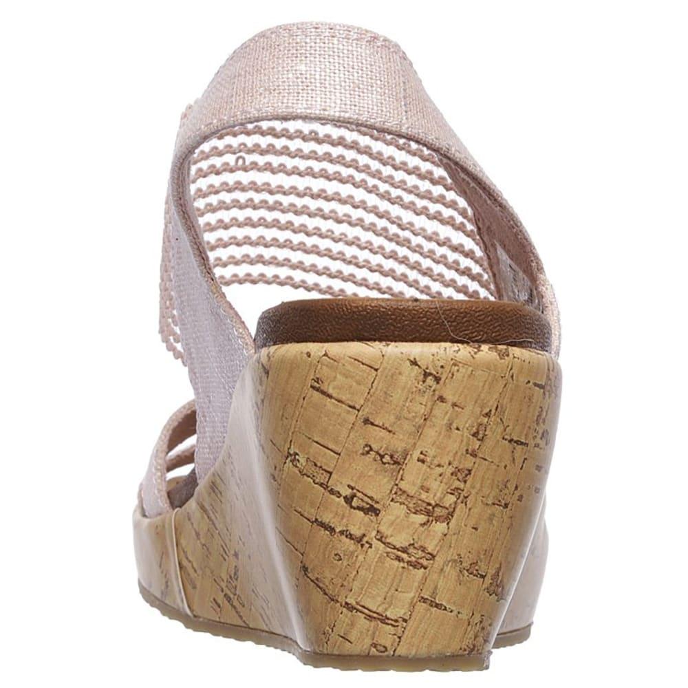 SKECHERS Women's Beverlee - High Tea Wedge Sandals - PINK-PNK