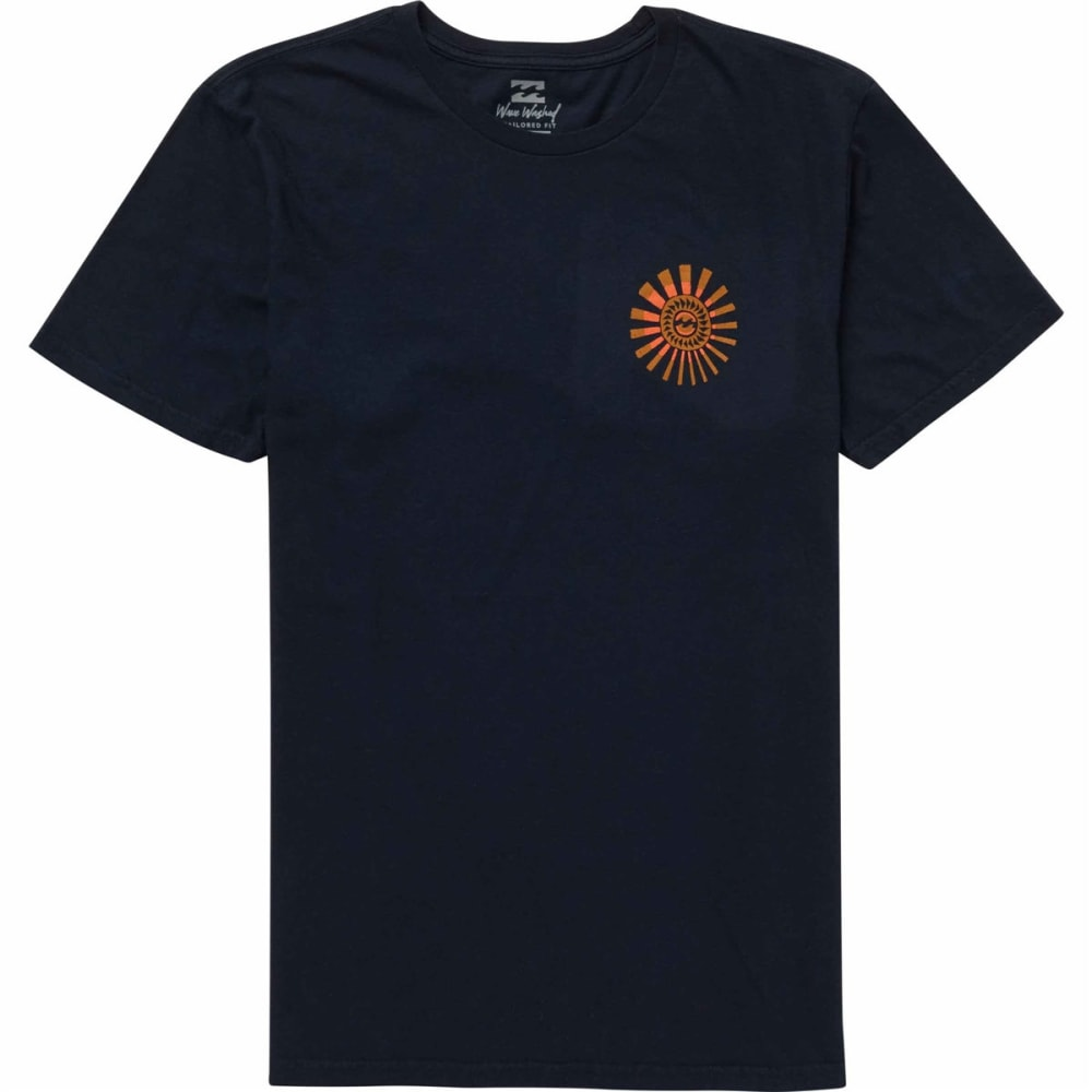 Billabong Guys' Dreamwheel Short-Sleeve Tee - Blue, M
