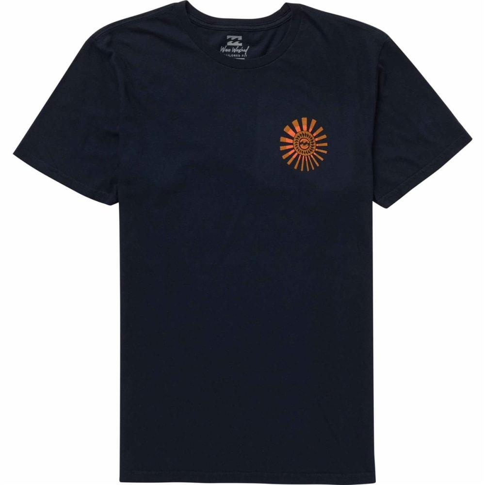 Billabong Guys' Dreamwheel Short-Sleeve Tee - Blue, S